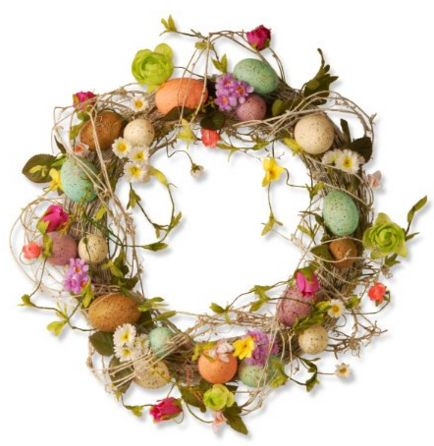 Easter Egg Wreath for Sale