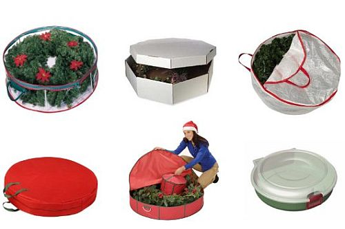 Charmant Wreath Storage Box