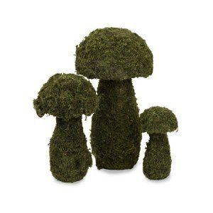 mushroom topiaries