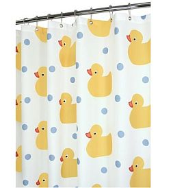 Merveilleux Rubber Duck Bathroom Shower Curtains