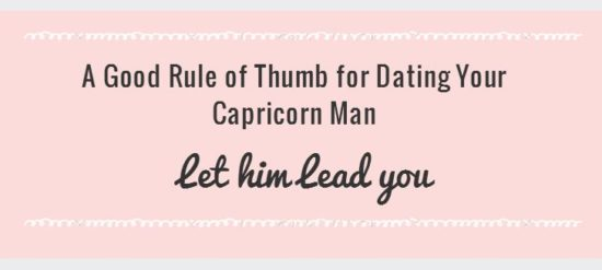 How To Win Back A Capricorn Male