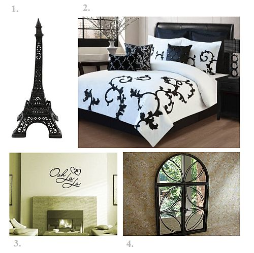 Black And White Bedroom Idea