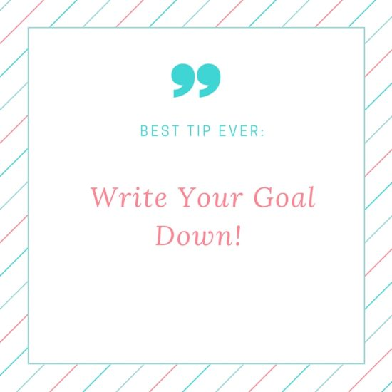 Top Personal Goal Setting Tip
