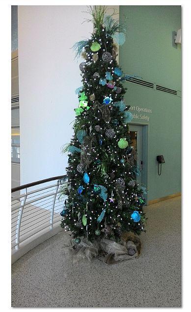 sea themed christmas tree