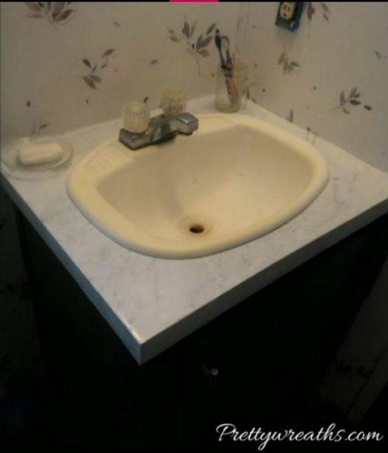 faux-marble-vanity