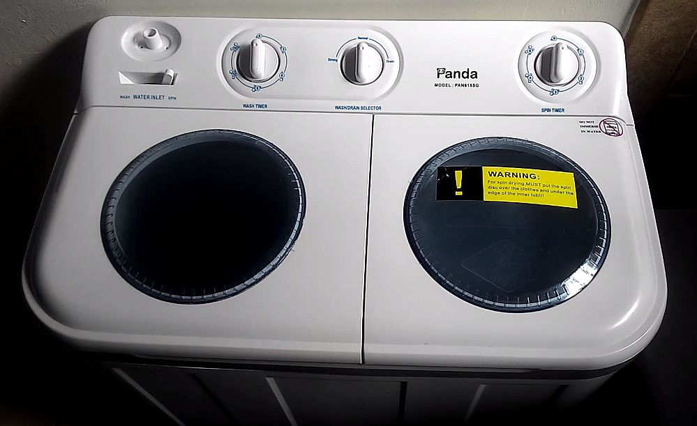 Portable Washer for Apartments-My Panda Experience ~