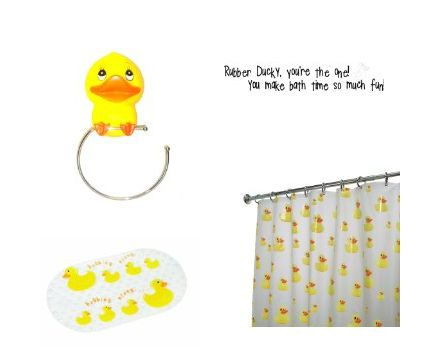 Rubber duck bathroom ideas