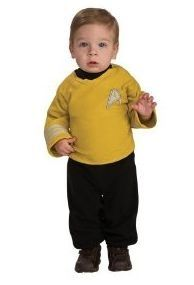 captain kirk baby costumes