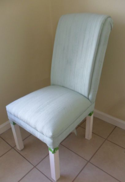 Painting Fabric Furniture With Chalk Paint