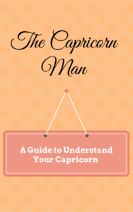 Capricorn man a guide to understand your man