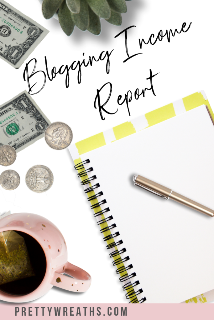 Blogging for income report! Here's a breakdown on the income, goals and frustrations on this blogging journey. Follow along!