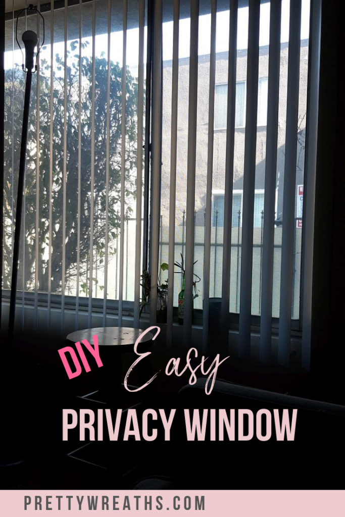Create INSTANT privacy with a privacy screen. See the difference it makes in the light! Get ready to change the vibe of your room. #privacywindow #privacyscreen #privacywindows